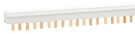 Lovato 3 Phase Busbar, 57 Module, 17.5mm Pitch, White