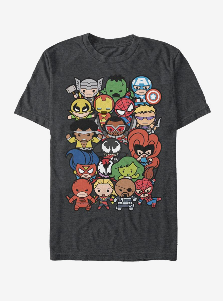 Marvel Avengers Pile Up T-Shirt
