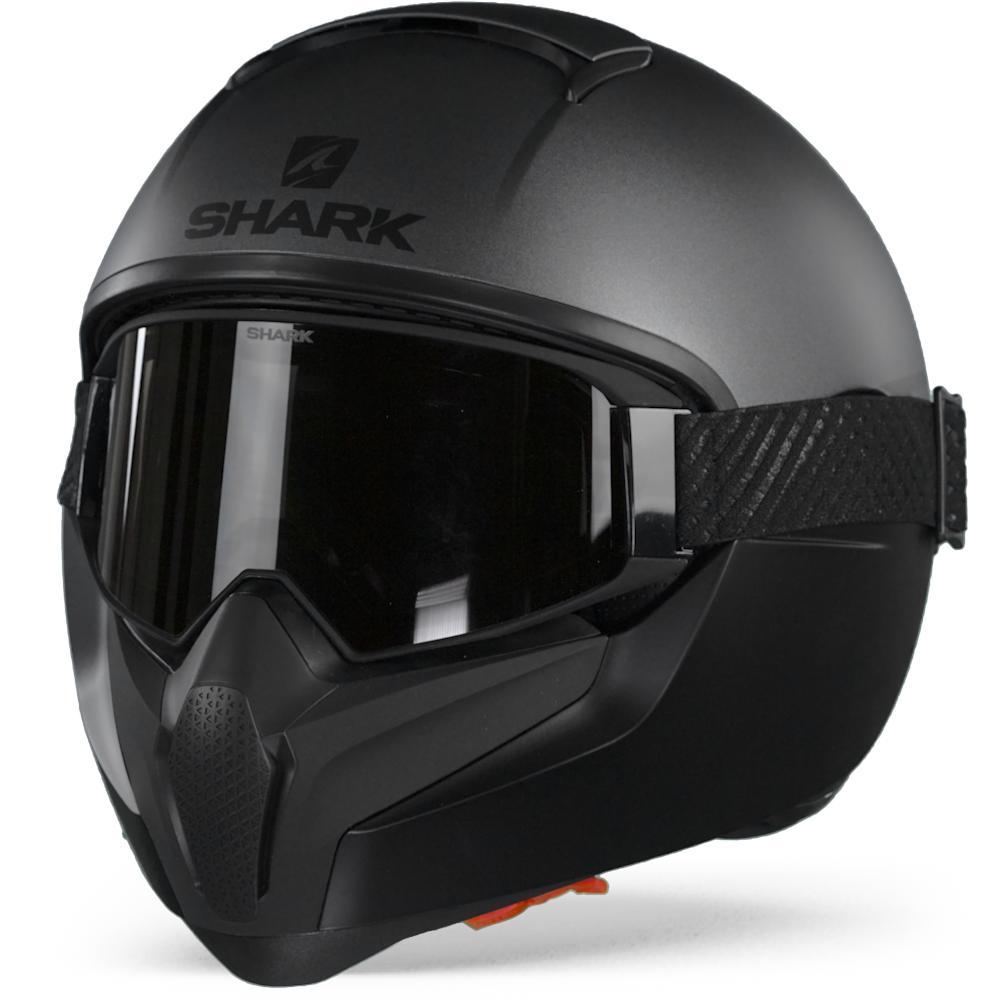 Shark Vancore 2 Neon Serie Casque Integral AKK Mat Anthracite Noir Noir L