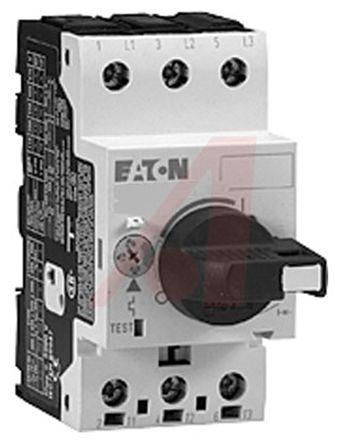 Eaton 690 V ac Motor Protection Circuit Breaker - 3P Channels, 6.3 → 10 A, 60 kA