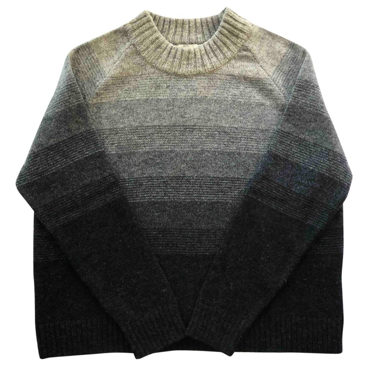 Maska - Pull   pour femme en laine - gris