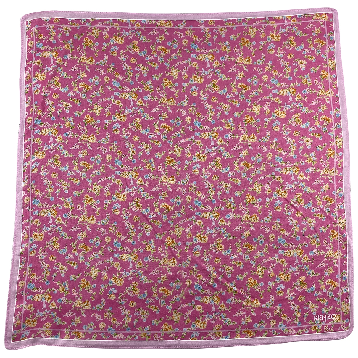 Kenzo - Foulard   pour femme en coton