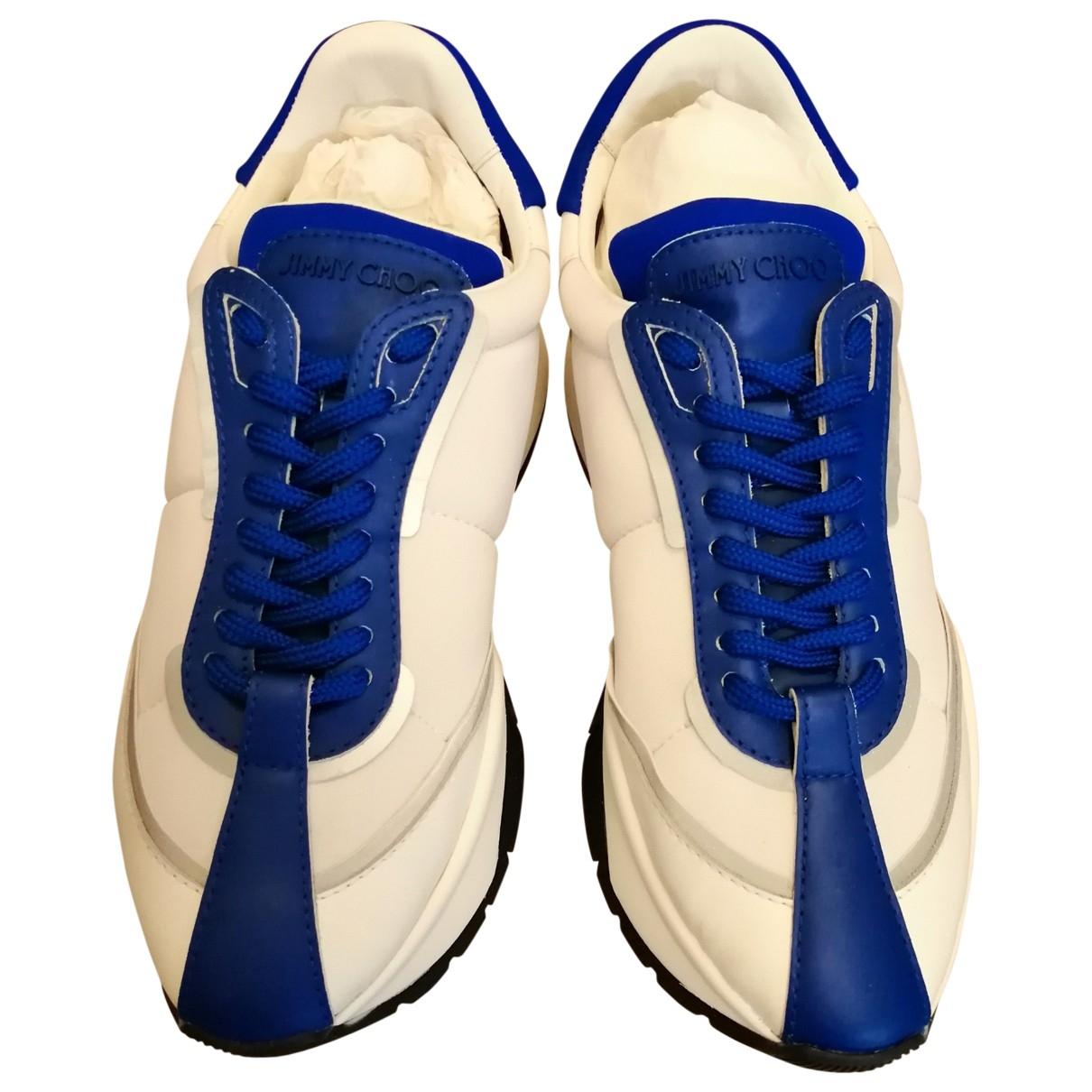 Jimmy Choo \N Blue Trainers for Women 38 EU