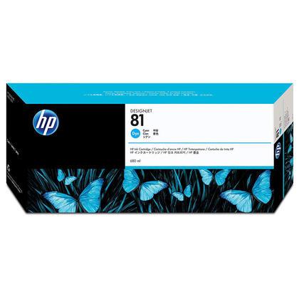 HP 81 C4931A Original Cyan Dye Ink Cartridge