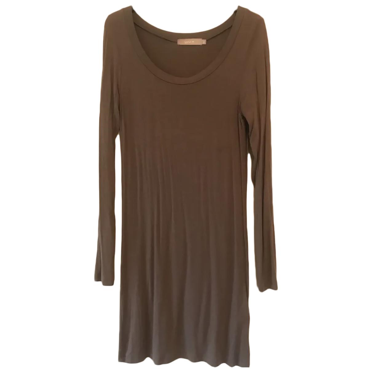 Gustav Gurschner \N Brown Cotton dress for Women 36 FR