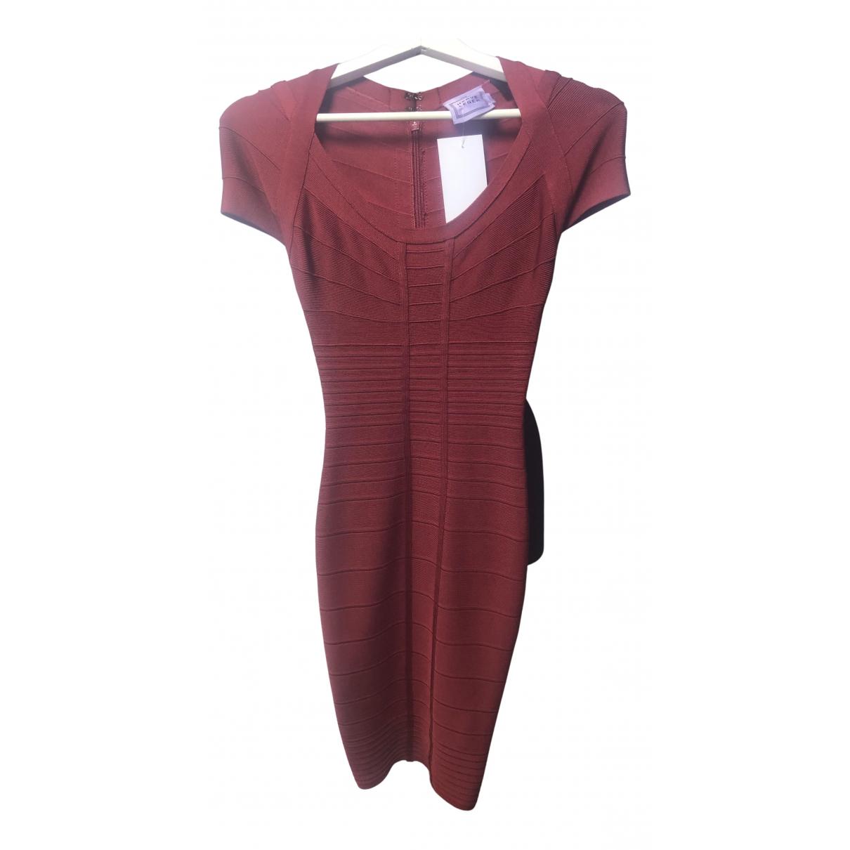 Herve Leger - Robe   pour femme - rouge