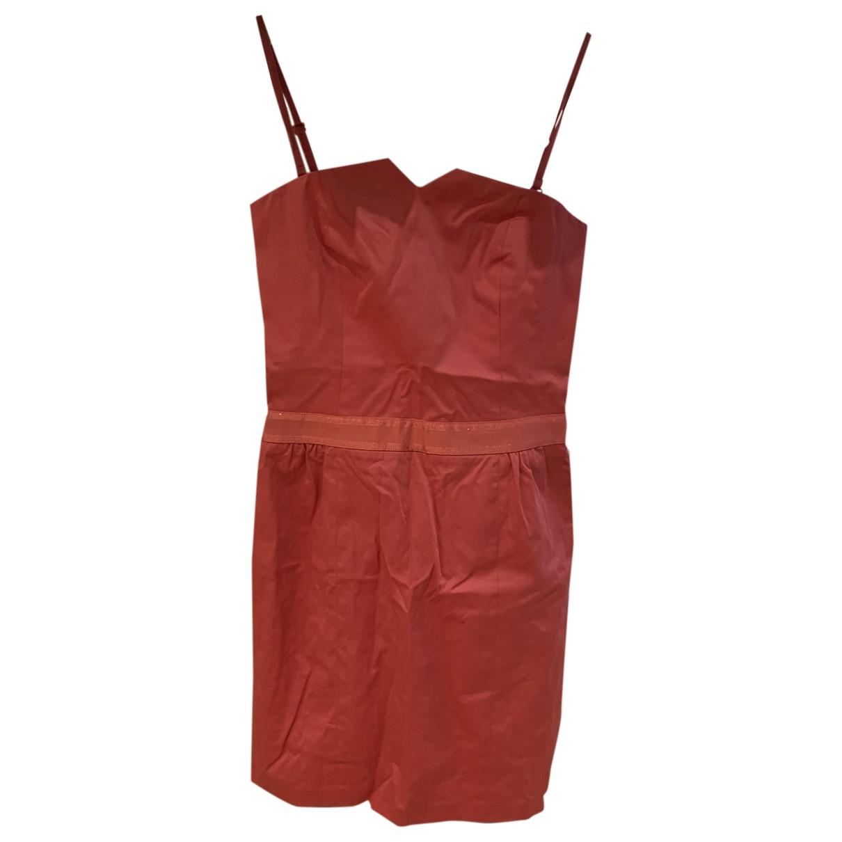 Comptoir Des Cotonniers \N Kleid in  Rosa Baumwolle - Elasthan