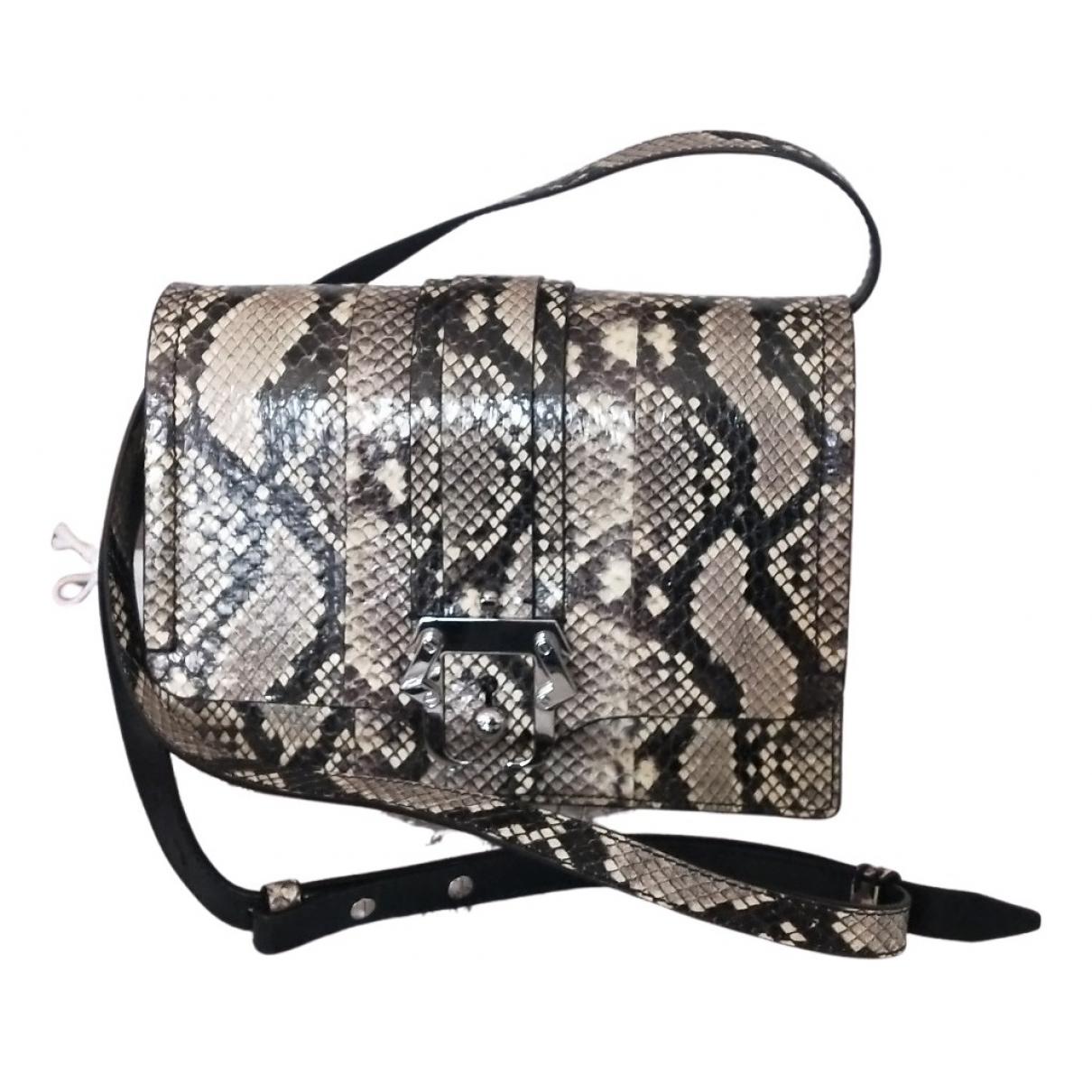 Paula Cademartori N Beige Python handbag for Women N