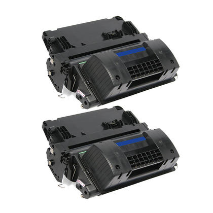 Compatible HP 90X CE390X cartouche de toner noire haute capacite - boite economique - 2/paquet