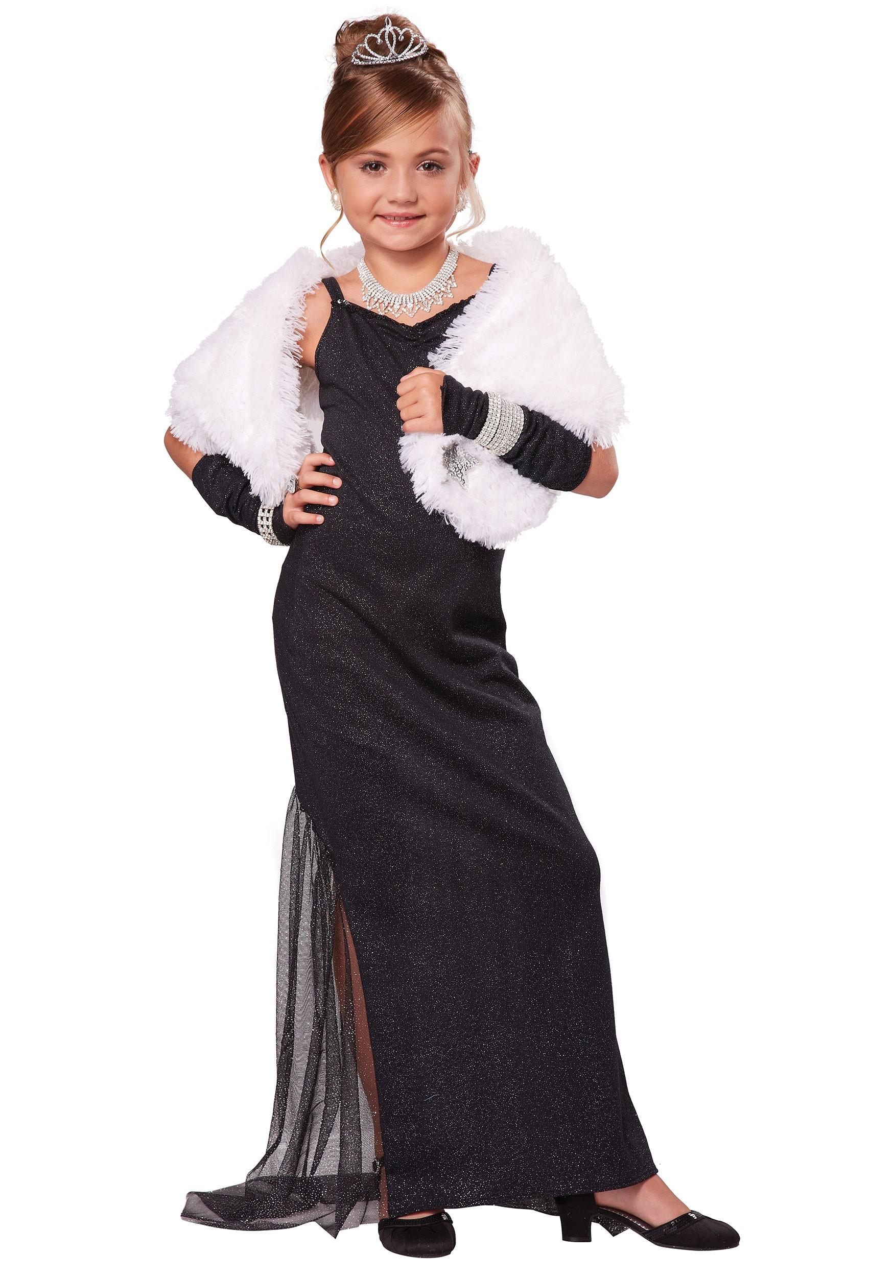 Hollywood Diva Girl's Costume