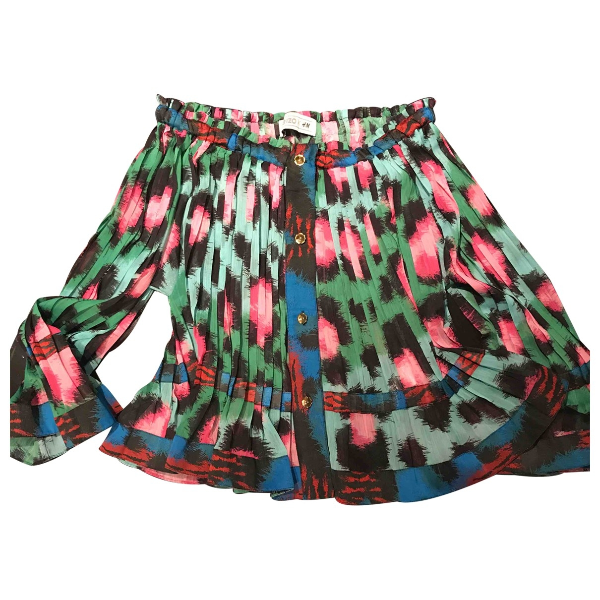 Kenzo X H&m \N Top in  Bunt Polyester