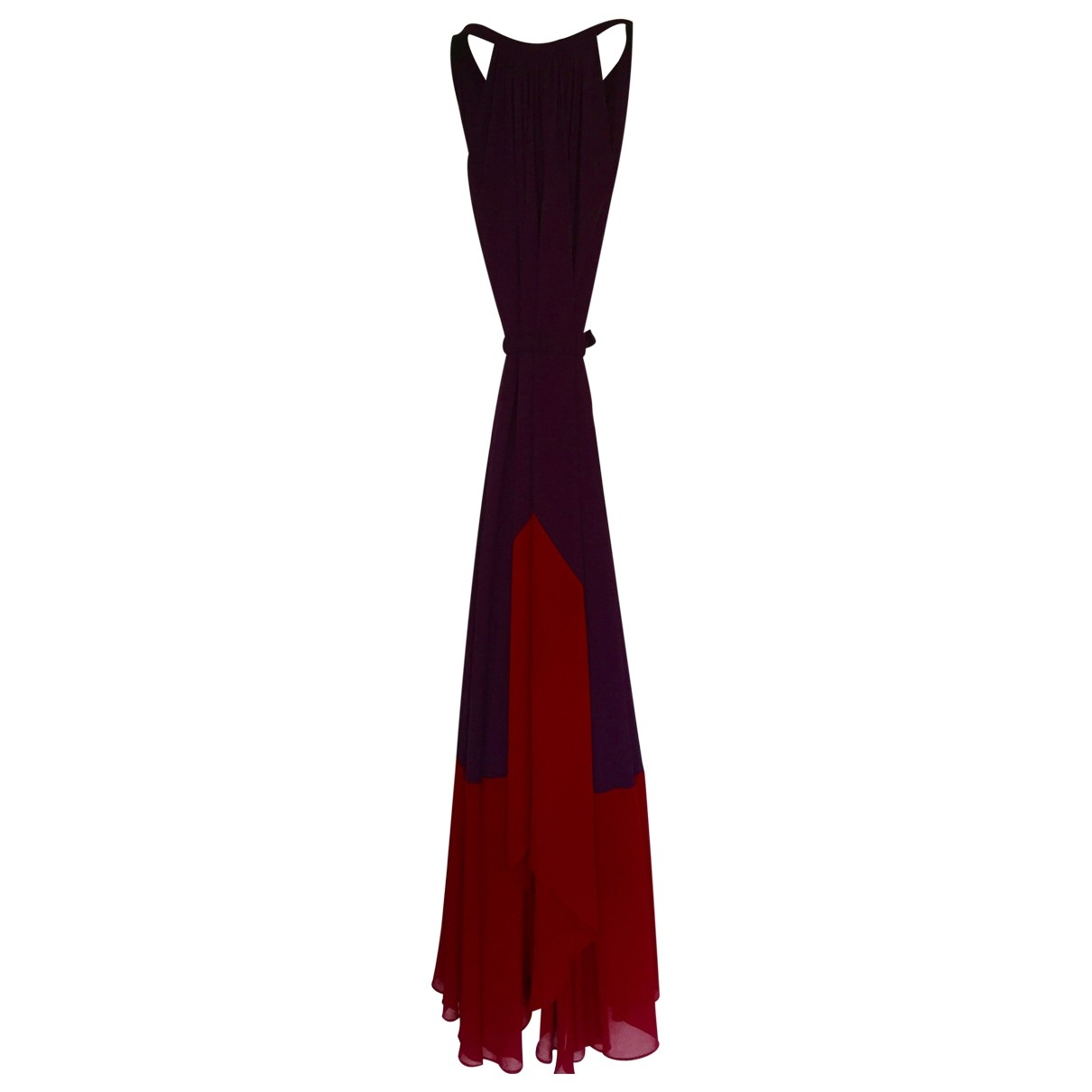 Saloni \N Kleid in  Rot Polyester