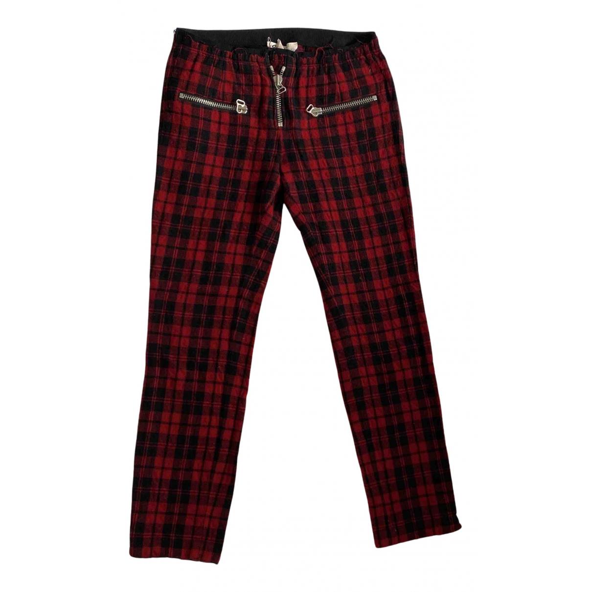 Pantalon pitillo de Lana Isabel Marant Etoile