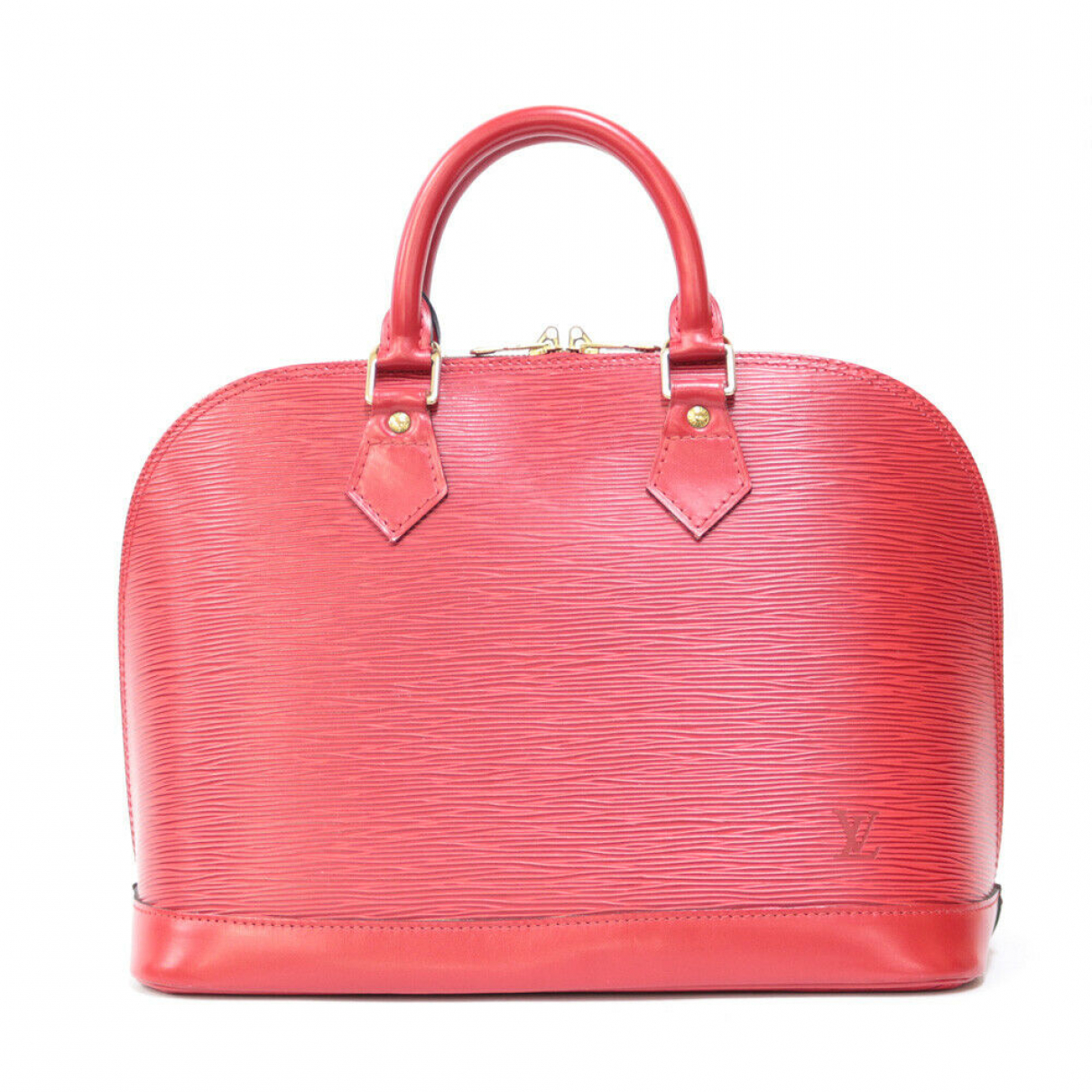 Louis Vuitton N Red Leather handbag for Women N