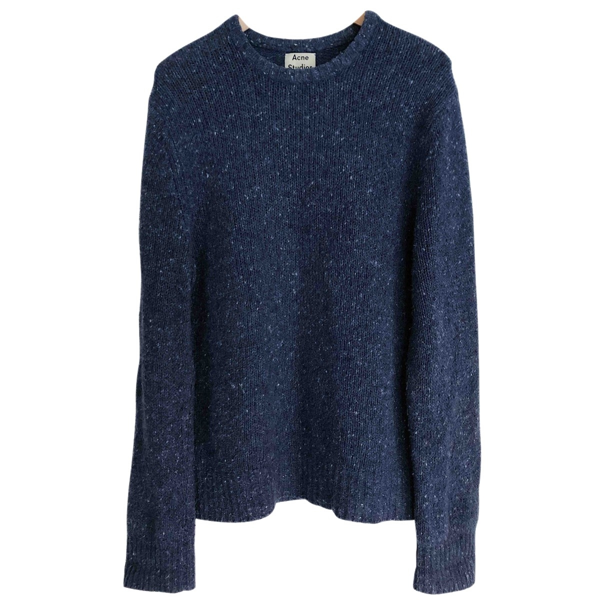 Acne Studios \N Blue Wool Knitwear & Sweatshirts for Men S International