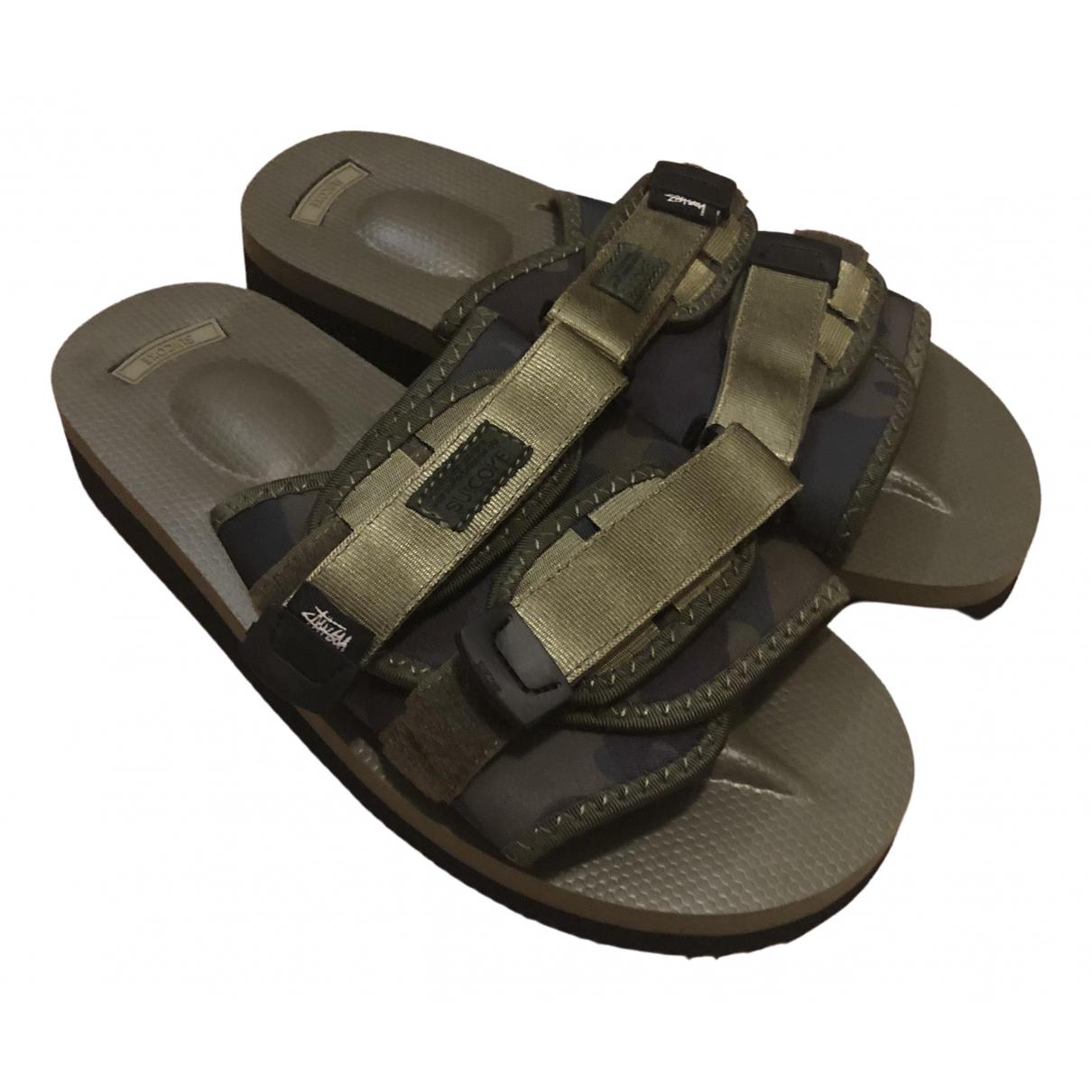 Suicoke - Sandales   pour homme - kaki