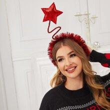 Weihnachten Haarreif mit Stern Dekor