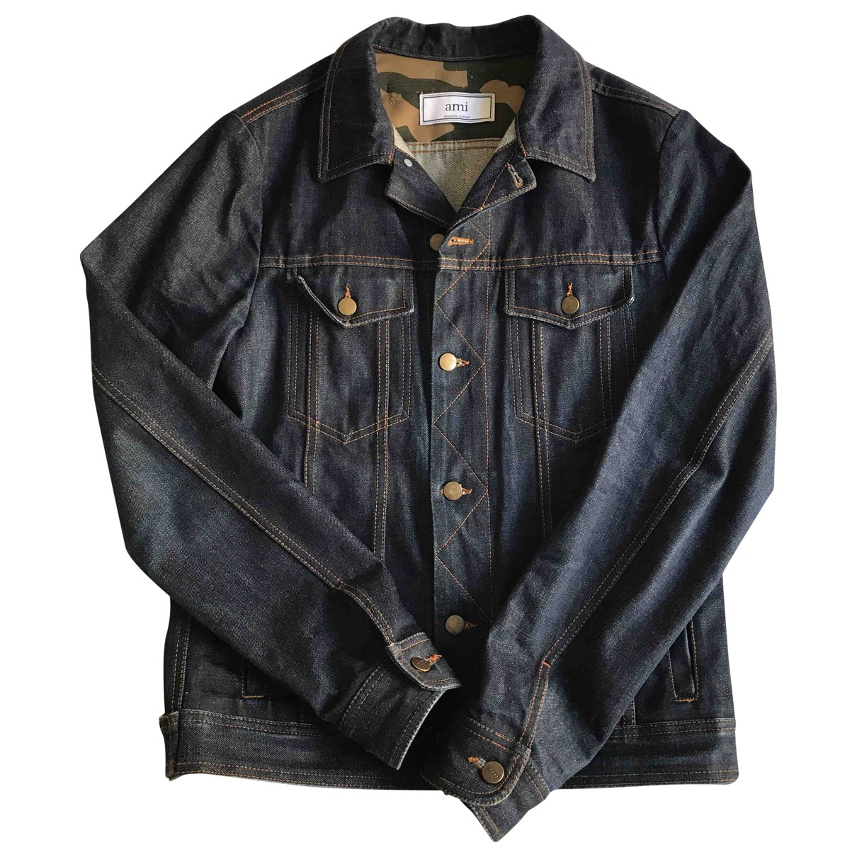Ami \N Blue Denim - Jeans jacket  for Men M International