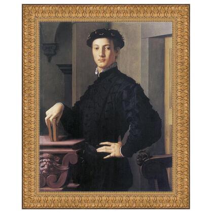 DA2854 38X46.5 Portrait Of A Young Man