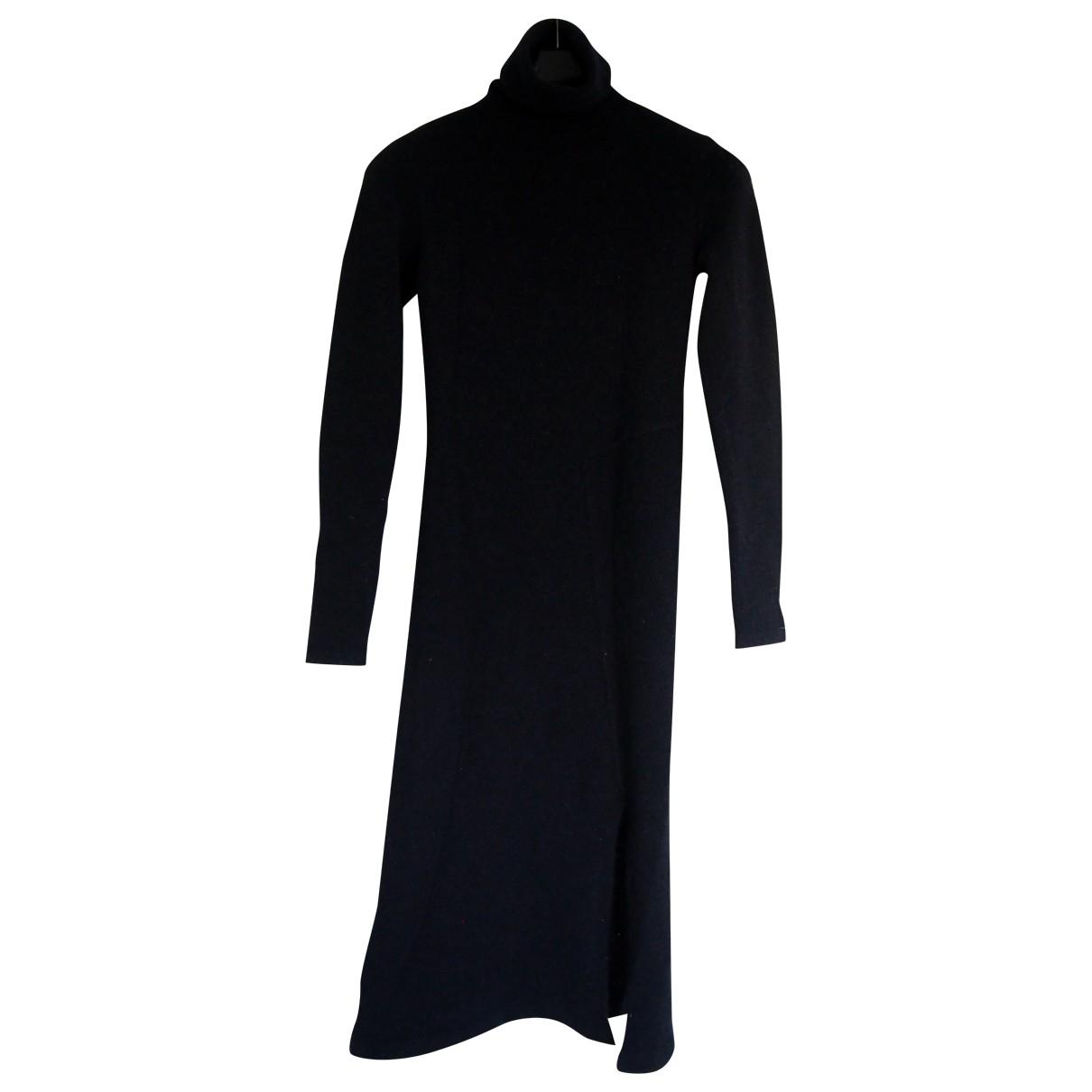 Cacharel \N Kleid in  Blau Wolle