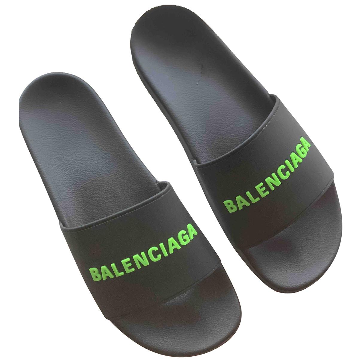 Balenciaga - Sandales   pour homme - noir