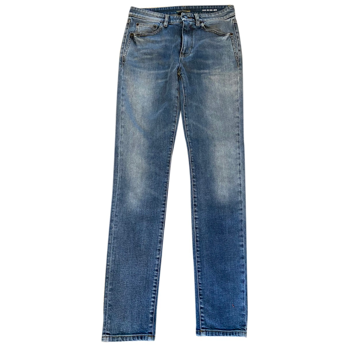 Saint Laurent N Blue Denim - Jeans Jeans for Women 29 US