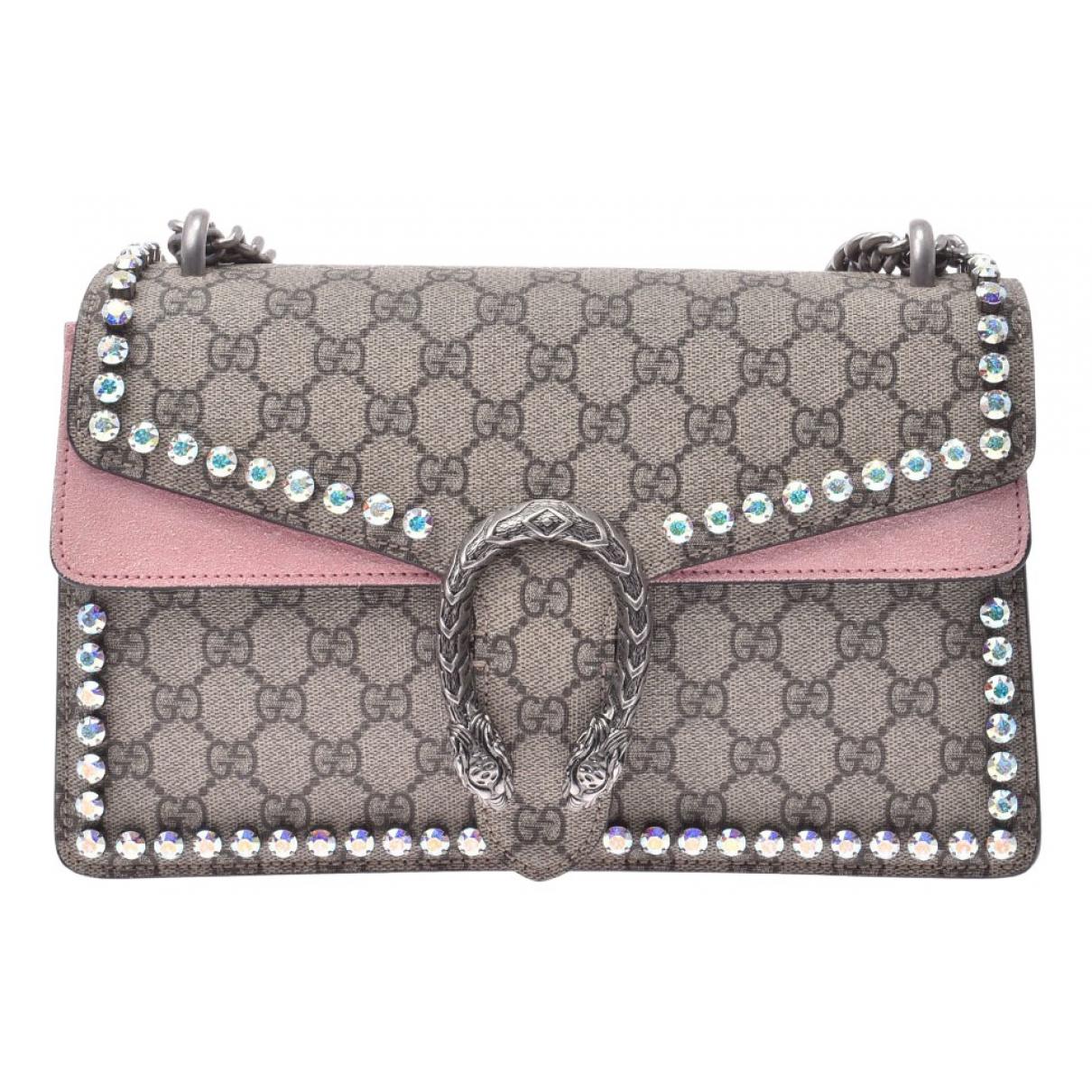 Gucci Dionysus Beige Cloth handbag for Women N