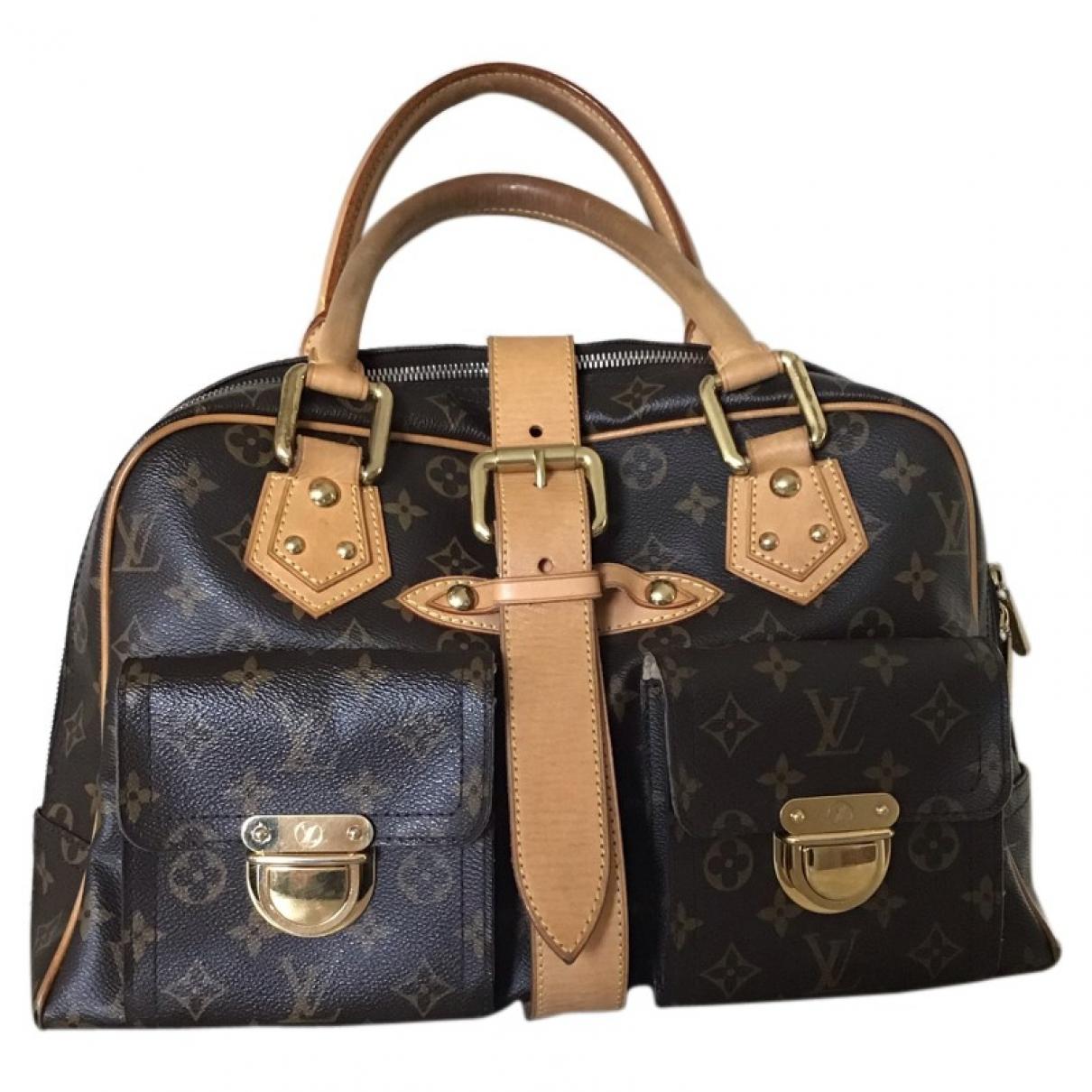 Bolso  Manhattan de Lona Louis Vuitton