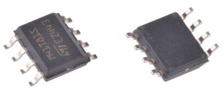 STMicroelectronics M41T81SM6F, Real Time Clock (RTC), 20B RAM Serial-I2C, 8-Pin SOIC (5)