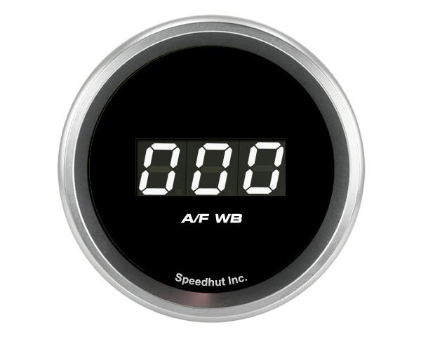 SpeedHut GR-DG-AFWB-08 Air/Fuel Digital Gauge Wide Band 10-20 with Easy Touch Bezel FOR SPARTAN LAMBDA