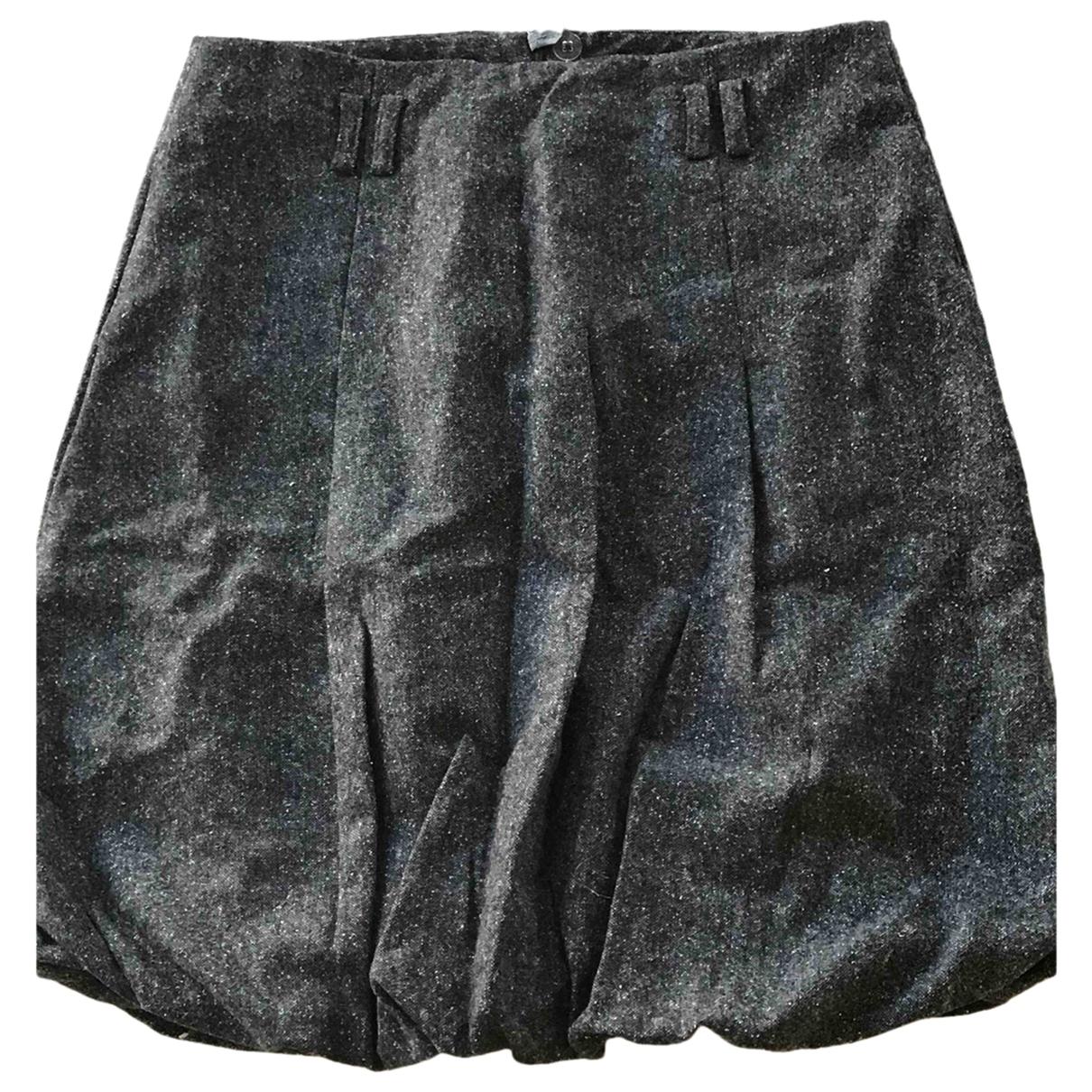 Tommy Hilfiger - Jupe   pour femme en laine - gris