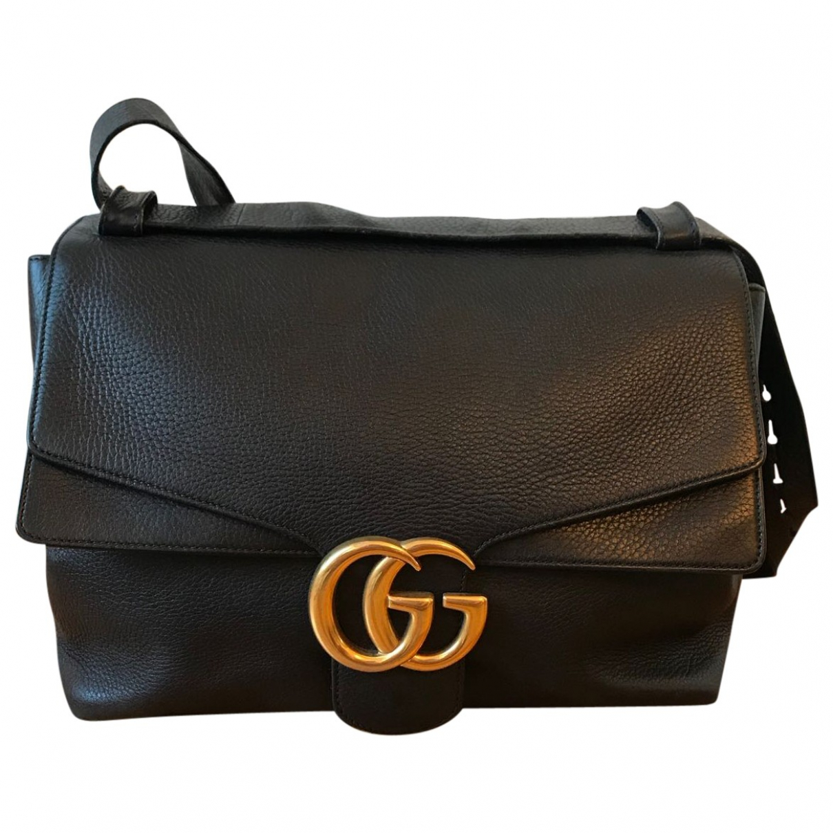 Gucci Marmont Black Leather handbag for Women \N