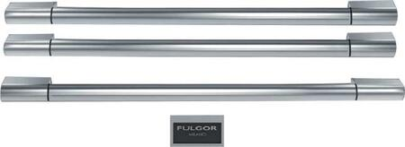 F6HK36FFBS Sofia Pro Handle Kit and Fulgor Milano Badge for French Door