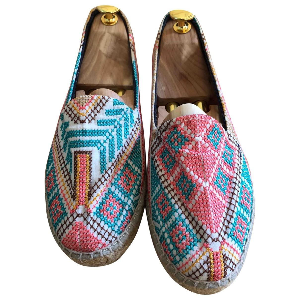Manebi - Espadrilles   pour femme en toile - multicolore