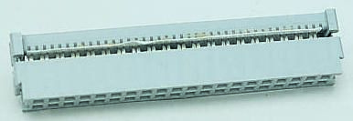 3M 34-Way IDC Connector Socket for Cable Mount, 2-Row