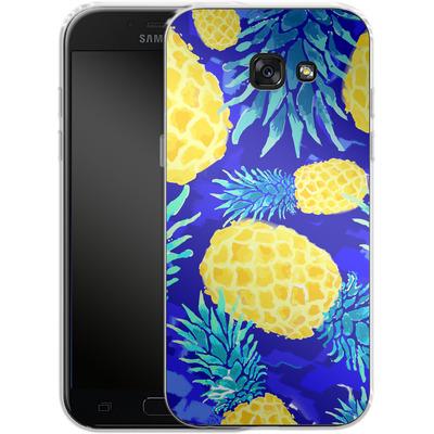 Samsung Galaxy A5 (2017) Silikon Handyhuelle - Pineapple Crush von Mukta Lata Barua