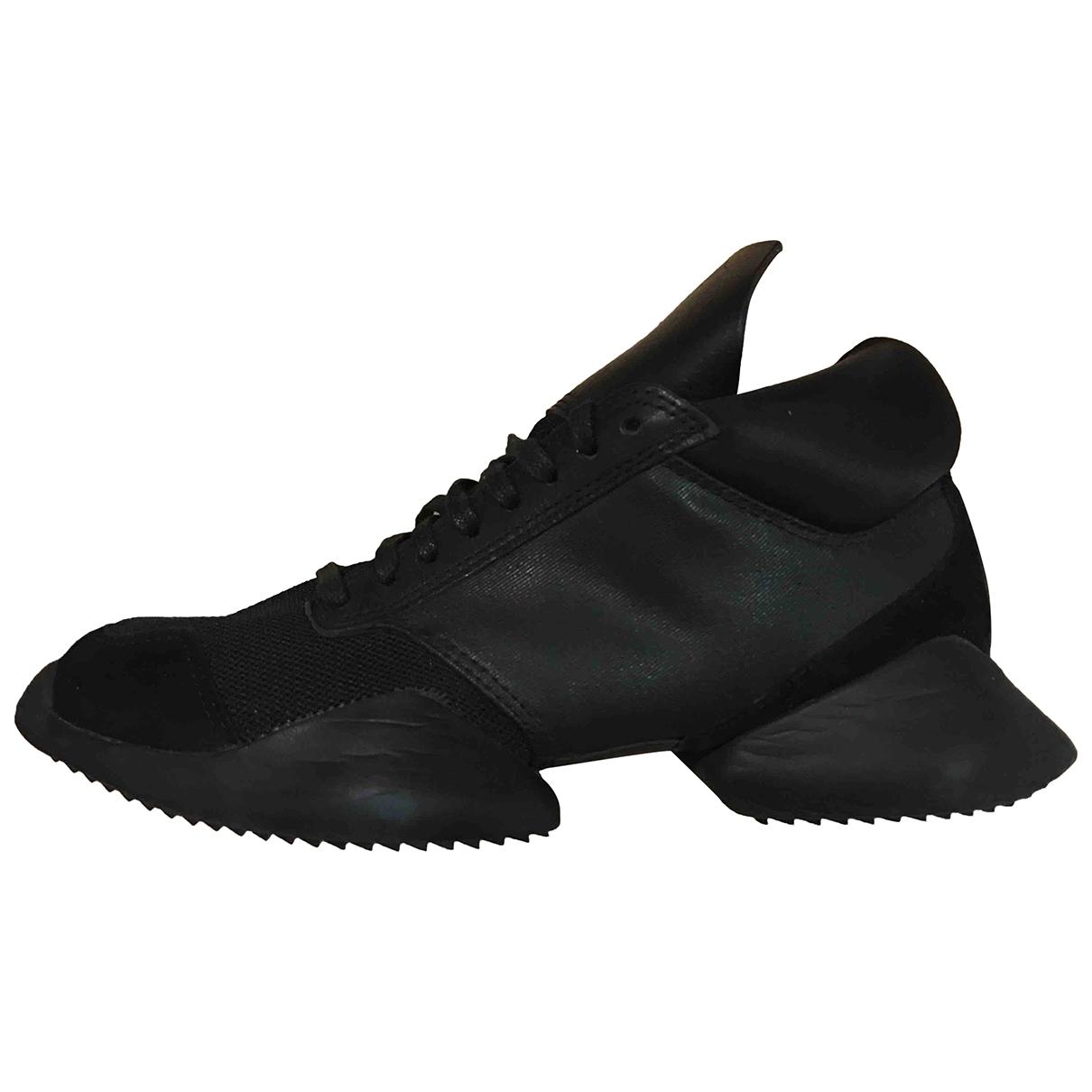 Adidas & Rick Owens - Baskets   pour homme - noir