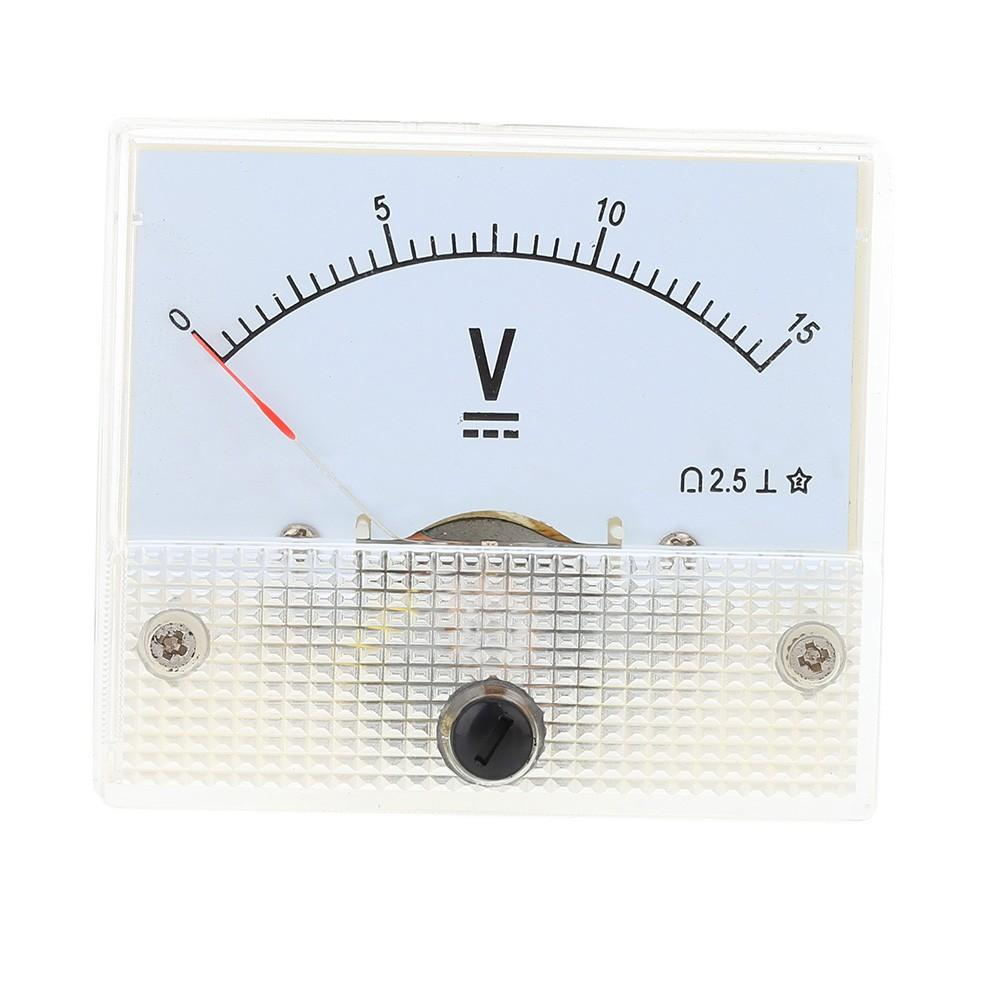 85C1-DC15V/85C1-DC30V DC Voltmeter Pointer Head Voltage Meter