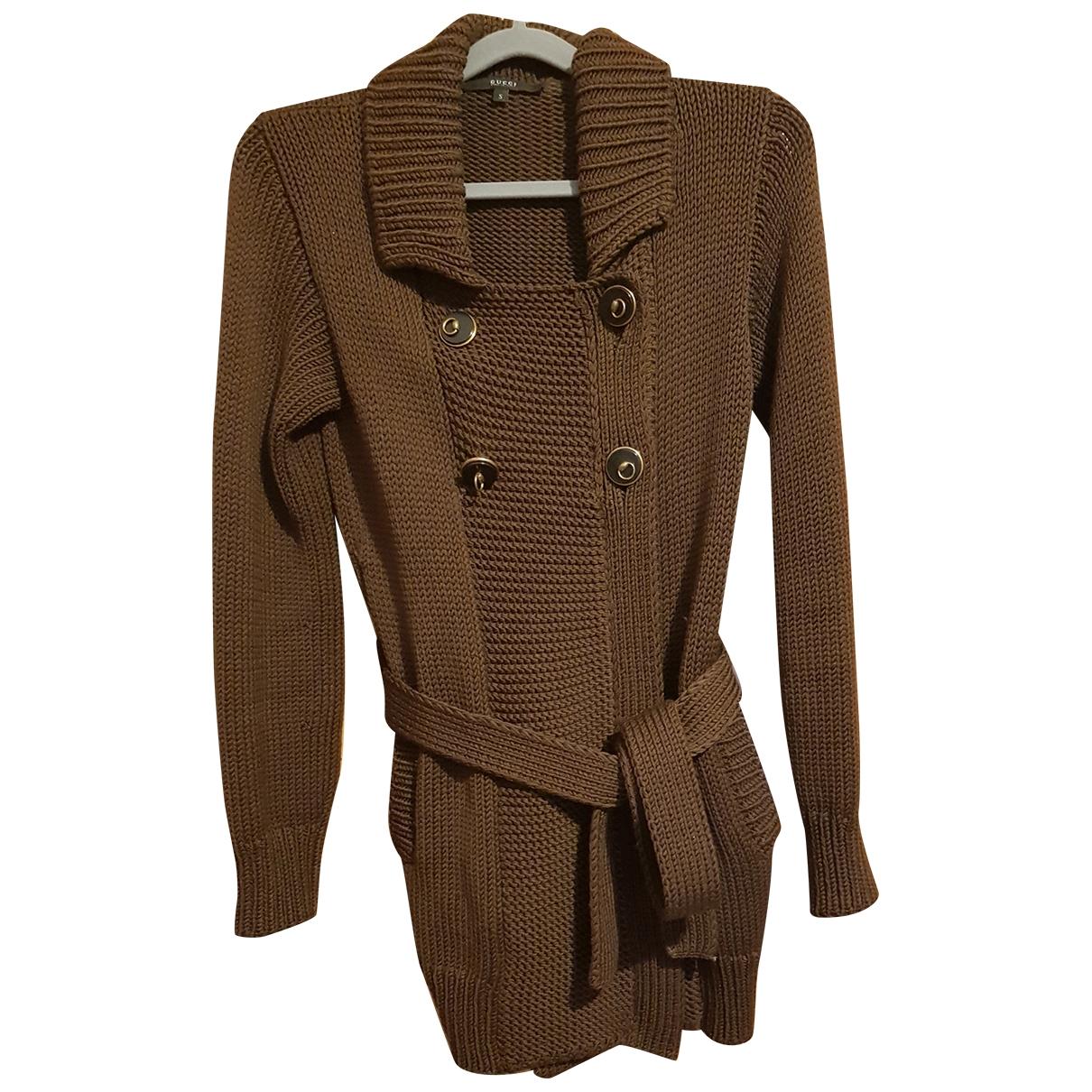 Gucci \N Brown Wool Knitwear for Women S International