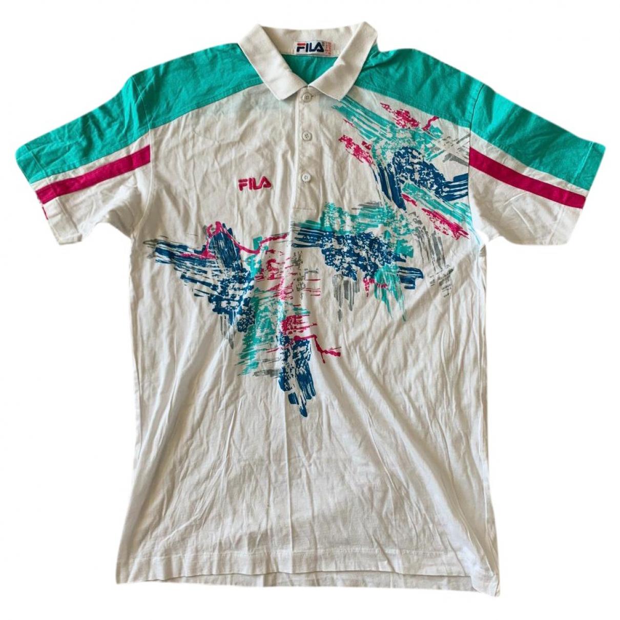 Fila \N Poloshirts in  Weiss Baumwolle