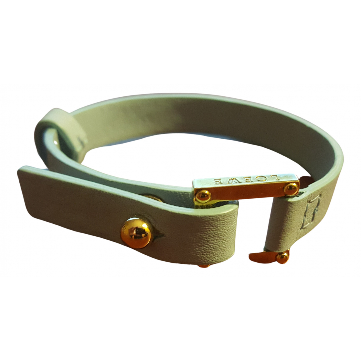 Loewe - Bracelet   pour femme en cuir - bleu