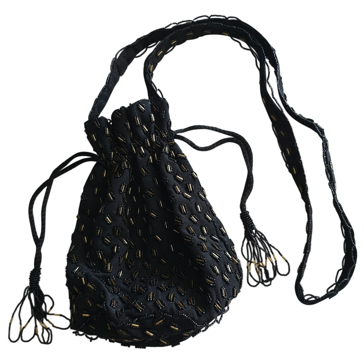 Non Signé / Unsigned \N Black Cloth Purses, wallet & cases for Women \N