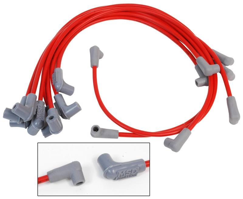 MSD Wire Set; Super Conductor; Big Block Chevy; Marine; HEI