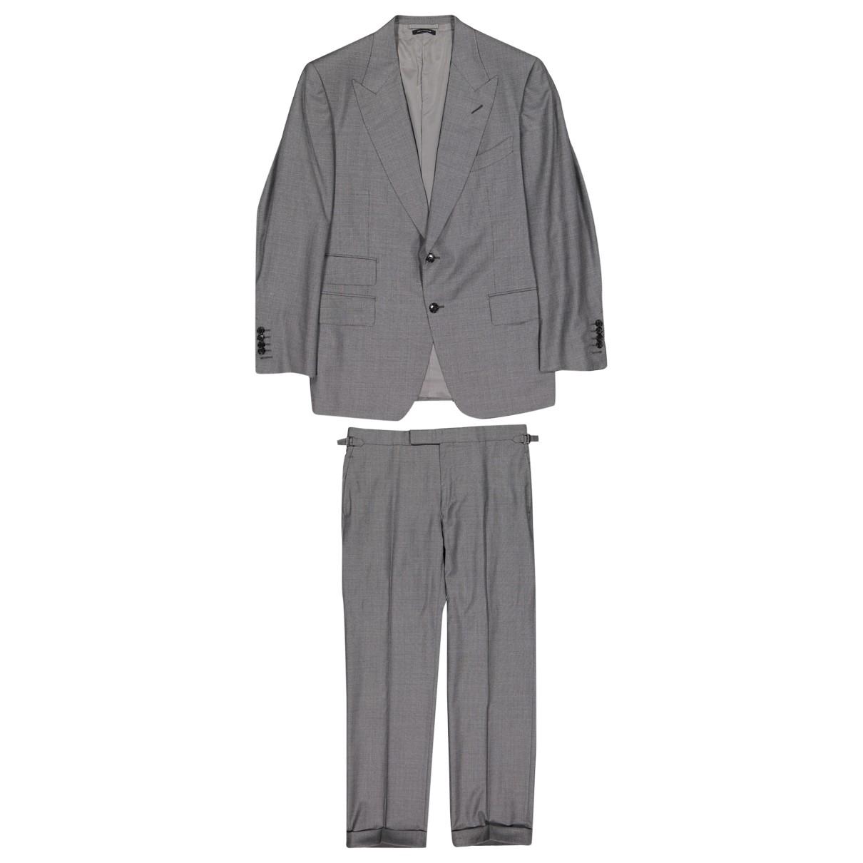 Tom Ford - Costumes   pour homme en laine - gris