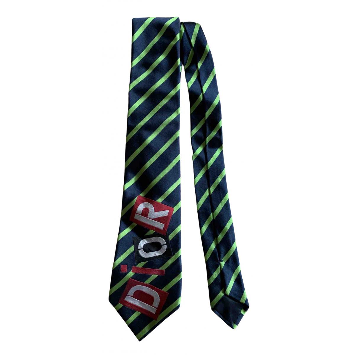 Dior N Multicolour Silk Ties for Men N