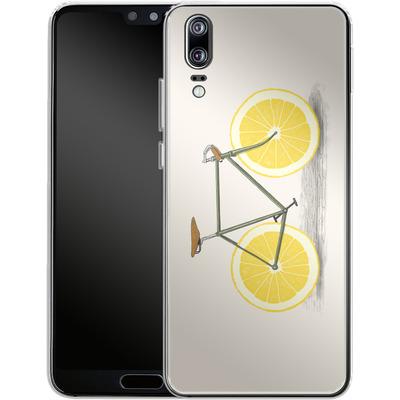 Huawei P20 Silikon Handyhuelle - Zest von Florent Bodart
