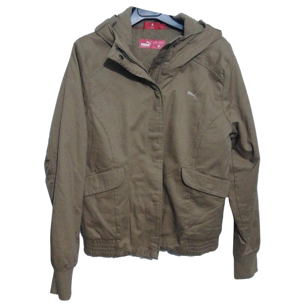 Puma \N Beige Cotton jacket for Women 40 IT