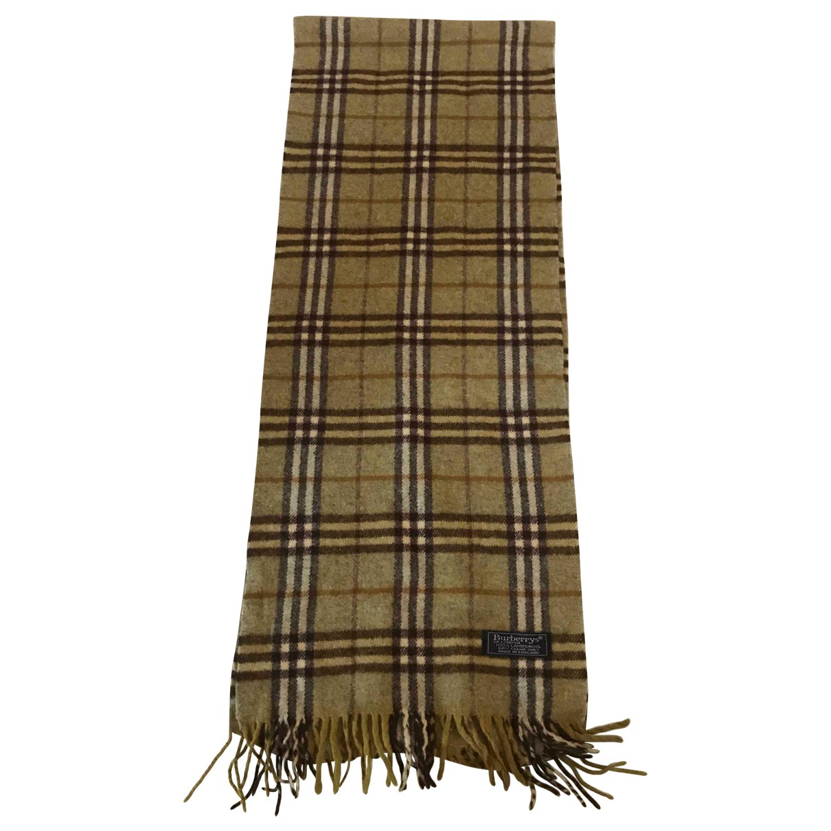 Burberry \N Green Wool scarf for Women \N
