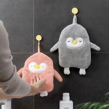1pc Penguin Shaped Hand Towel