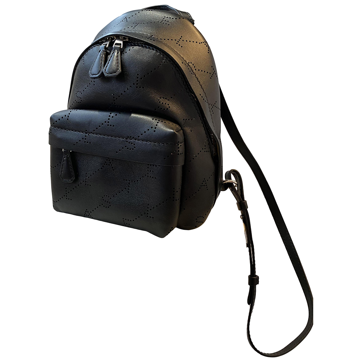 Stella Mccartney \N Black Cloth backpack for Women \N